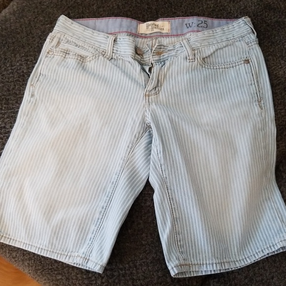 Anthropologie Pants - Anthro- Holding Horses jean shorts